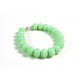 Bracelet parade vert opalin