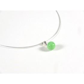 Collier Perline, vert nil