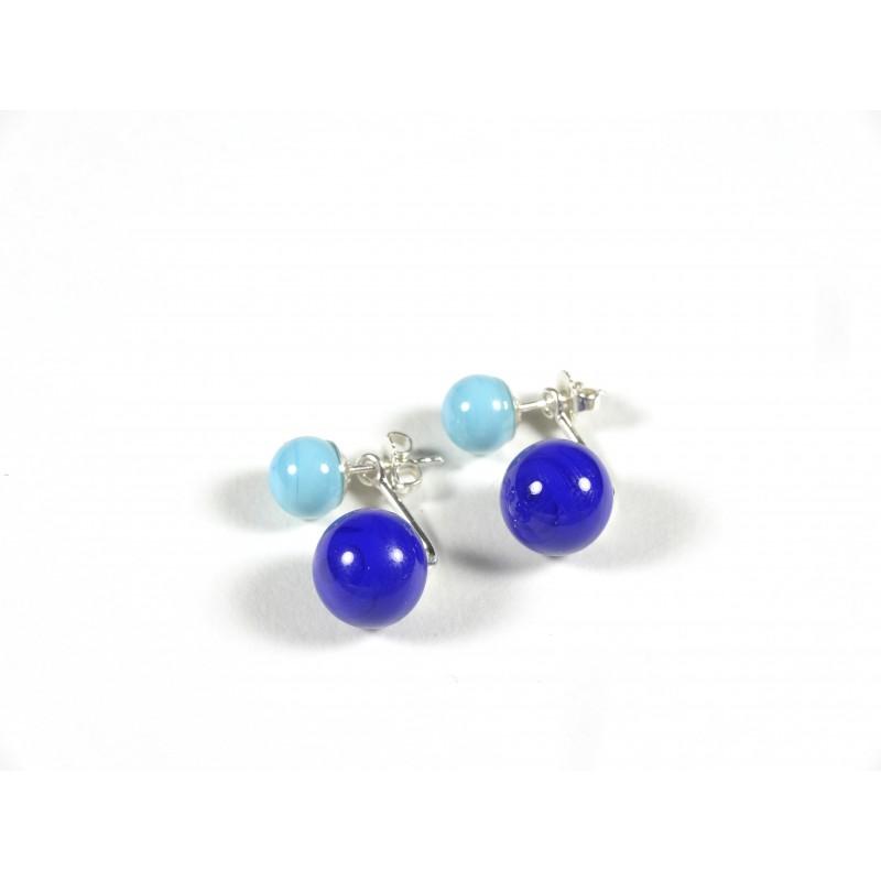 BO Dessus-dessous, bleu turquoise et bleu roi