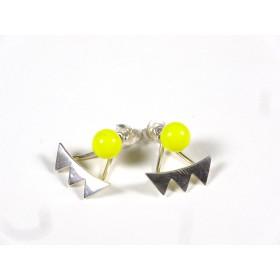 BO Dessus-dessous, jaune citron opaque