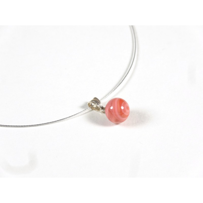 Collier Perline, corail