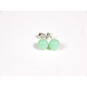 Petits clous vert jade