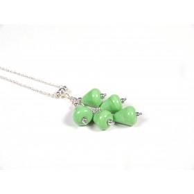 Collier Grapperon, vert nil