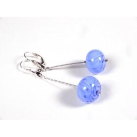 BO Sur le fil, bleu hortensia et incolore