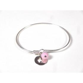 Bracelet Brelok, rose pâle