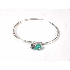 Bracelet Brelok, vert émeraude