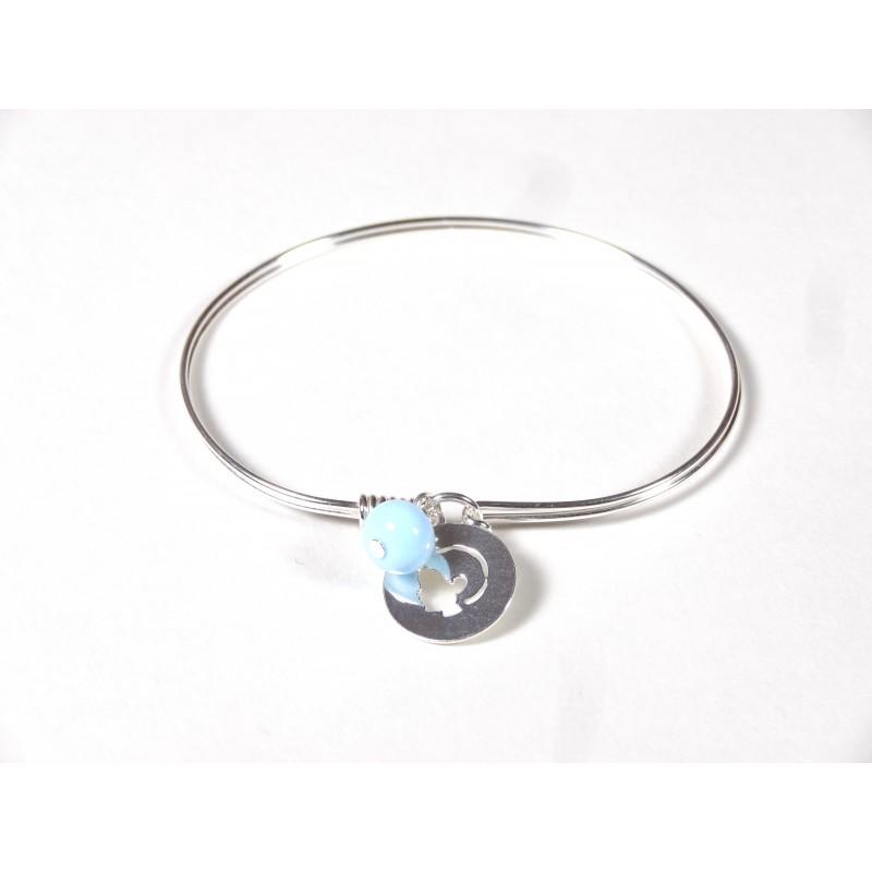 Bracelet Brelok, bleu ciel