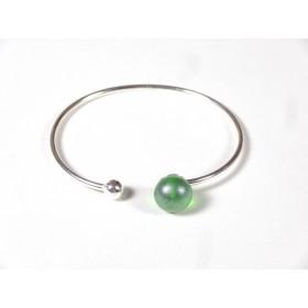 Bracelet Only You, vert anis givré