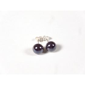 Petits clous effet perle noire
