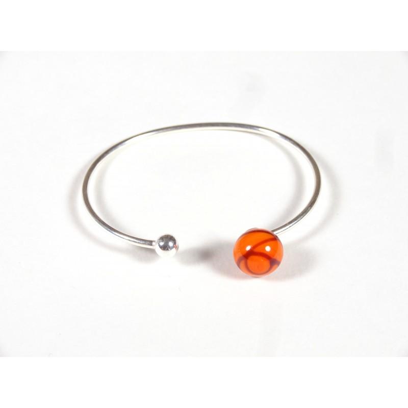 Bracelet Only You, orangé fil rouge