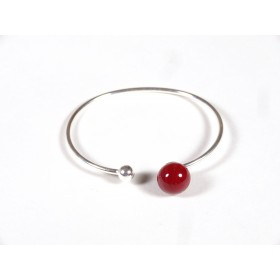Bracelet Only You, rouge cerise