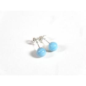 Petits clous bleu turquoise clair