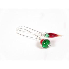 BO Fili asymétriques, rouge et vert