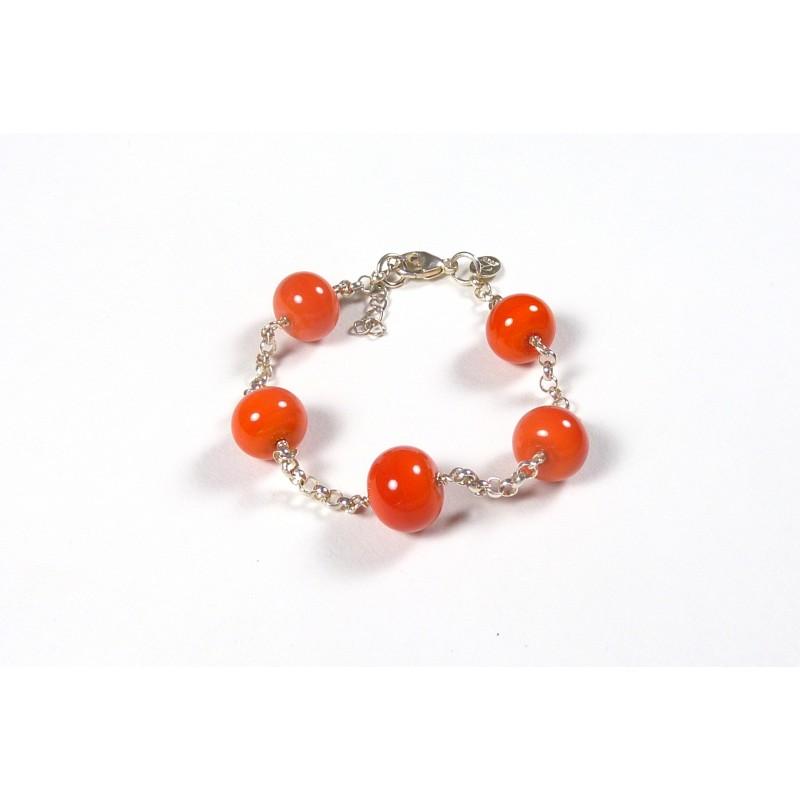 Bracelet forçat orange